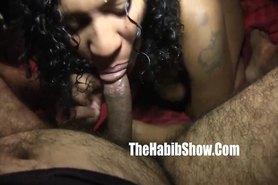 Mixed indian N black Preg pussy banged P1