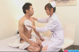 Miina is a  nurse and enojys it