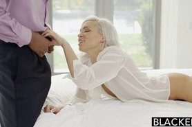 Preppy Blonde Girlfriend Kacey Jordan Cheats with BBC