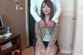 Asian girl groped