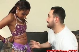 Sweet little perky indian babe