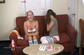 Ashley and Amber Play Strip Hi-Lo