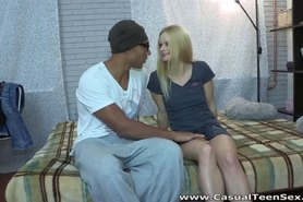 Interracial casual sex