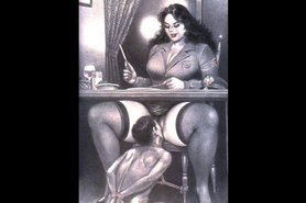 Face sitting Asian nurses femdom artwork  GrappleTube