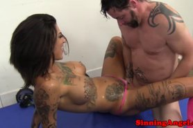 Bonnie Rotten eaten out and fucked