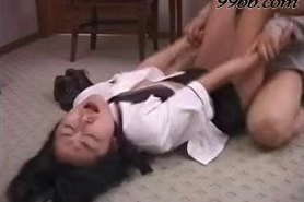 Mari Nishizawa in Dirty stewardess business Part 3