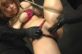 Japanese Sex Slave Fucked By Masters