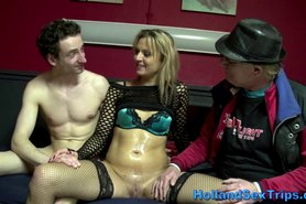 Real dutch hooker cummed on