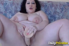 Hot busty babe bbw DIVINE fat pussy