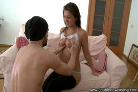 Heated teen babe fucked in all imaginable positions