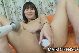 Nana Ogami - Pretty Teen Drilled And Creampied