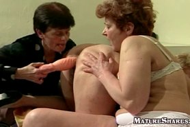 Grannies Toy Fucking Each Other