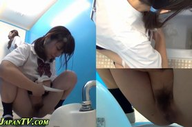 Hairy japanese sluts pee