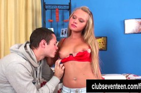 Busty teen Jessy gets fucked and facialized
