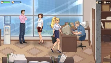 TheLewdKnight (part 3). First day at work, sex with the boss porno ...