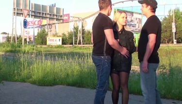 Street PUBLIC Sex Orgy with a Beautiful Blonde Girl TNAFlix Porn ...