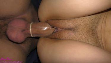 Condom In Pussy