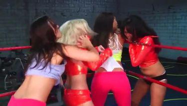 Bra And Panties Wrestling Videos Gif
