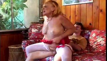 Horny grandmother sucks, fucks her grandson TNAFlix Porn Videos