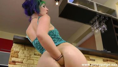 Self Anal Fisting At The Bar - Proxy Paige TNAFlix Porn Videos