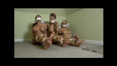 Three Nude Bound Gagged Girls Held Hostage Tnaflix Porn Videos