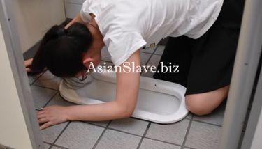 Asian Slave Public Toilet Licking - BDSM TNAFlix Porn Videos