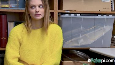 Nadya is caught when she hides stolen items under her yellow ...