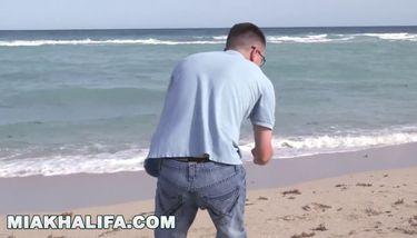 MIA KHALIFA - Nerdy Fan Loses His Virginity To His Favorite ...