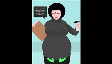 Janet Peter-Smyth (Original Character) Pregnant Belly Rubs ...