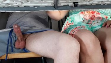 Amateur Handjob Under Table 'handjob under table' Search