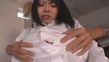Большие сиськи пухлой японки Rin Aoki TNAFlix Porn Videos