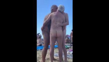 Gay beach porn
