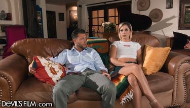 busty milf casting couch
