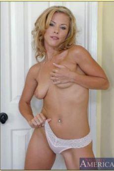 Cum on my huge mature tits