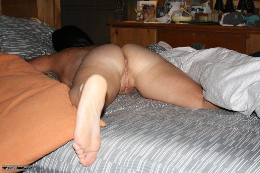 My wife naked sleeping, blowjob video tube