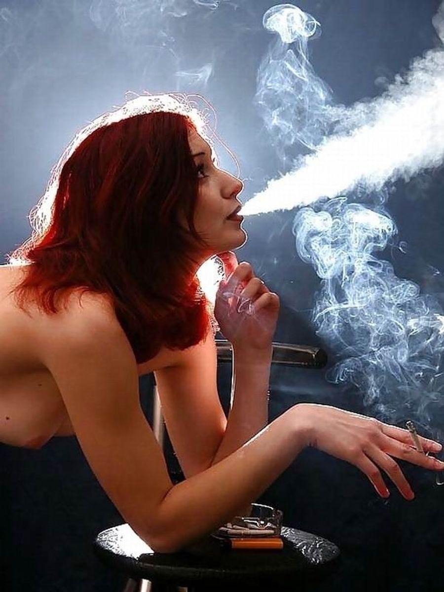 Just Having A Smoke!