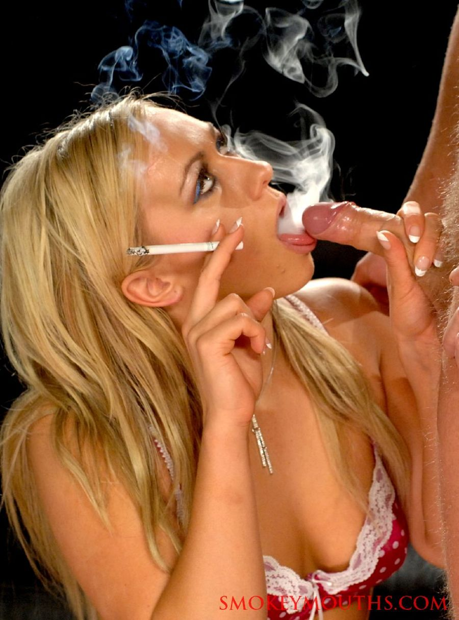 Smoking cigarette fetish sex