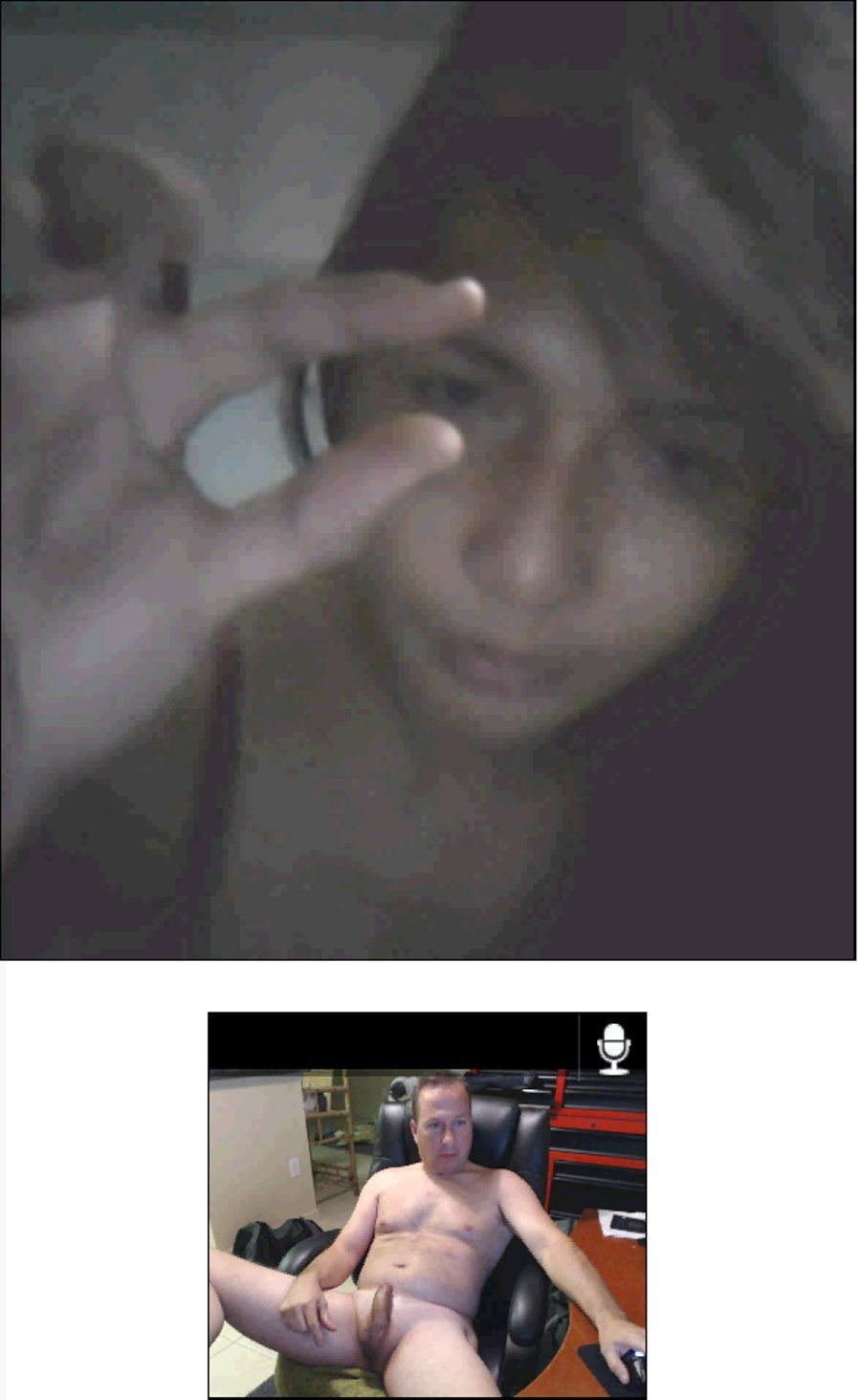 Boys On Webcam