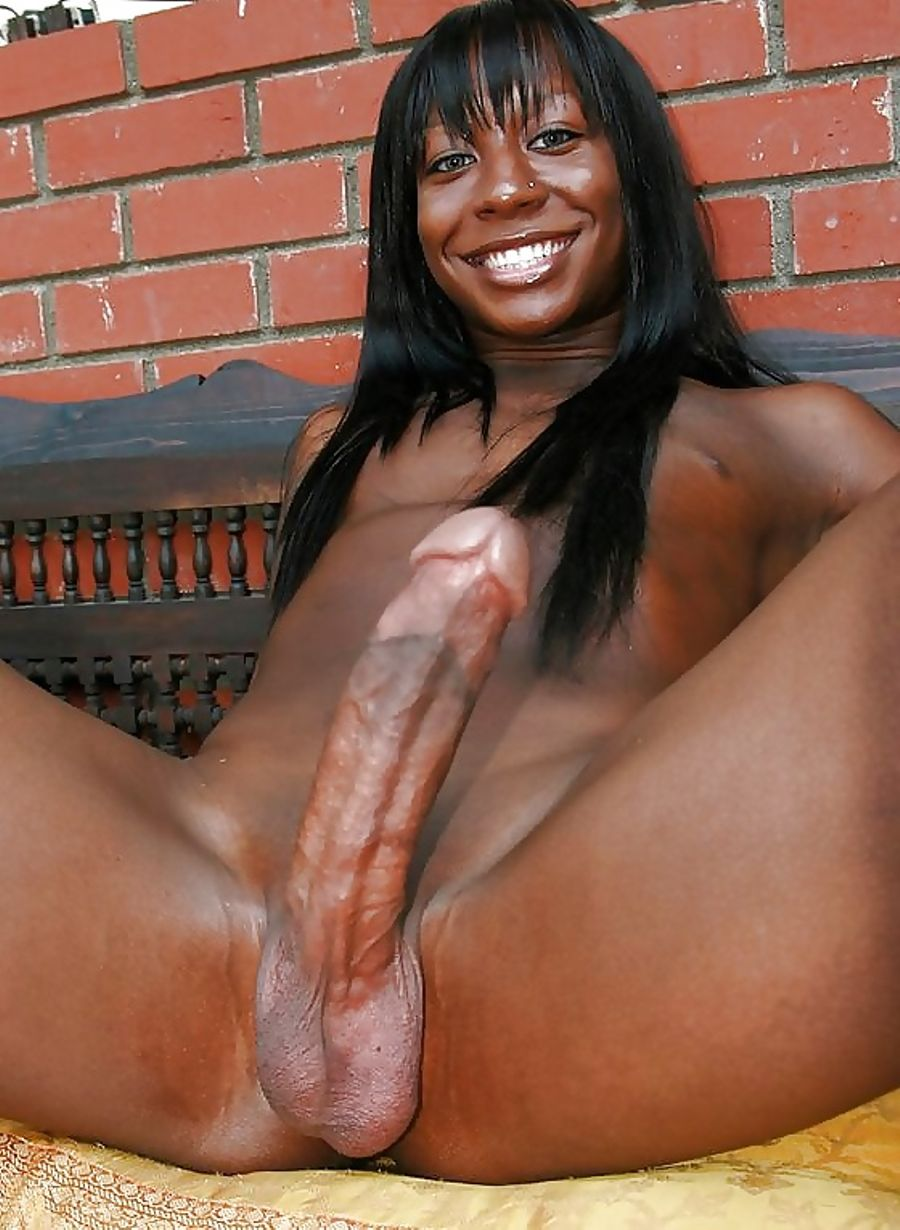 Ebony long dick
