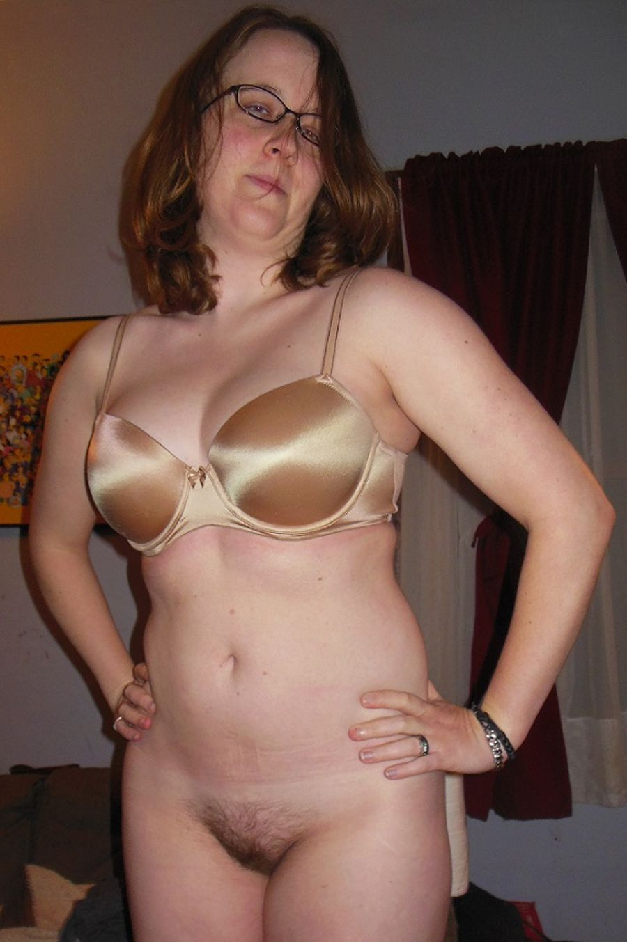 Mature In Bra And Panties