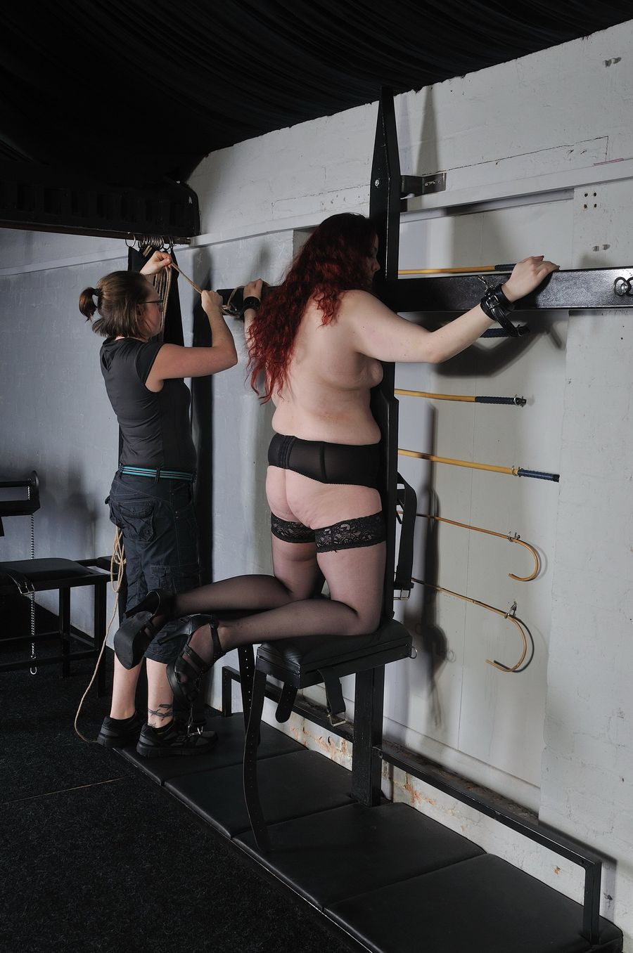 whipping video domination Female