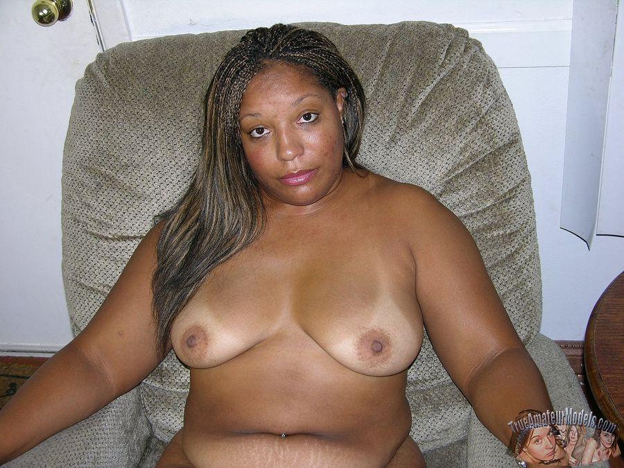 Fat black amateur