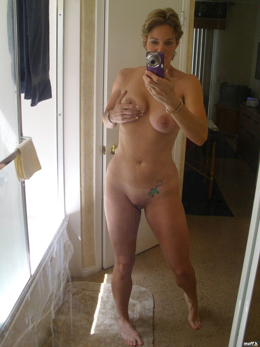 Nude mom asian shot self