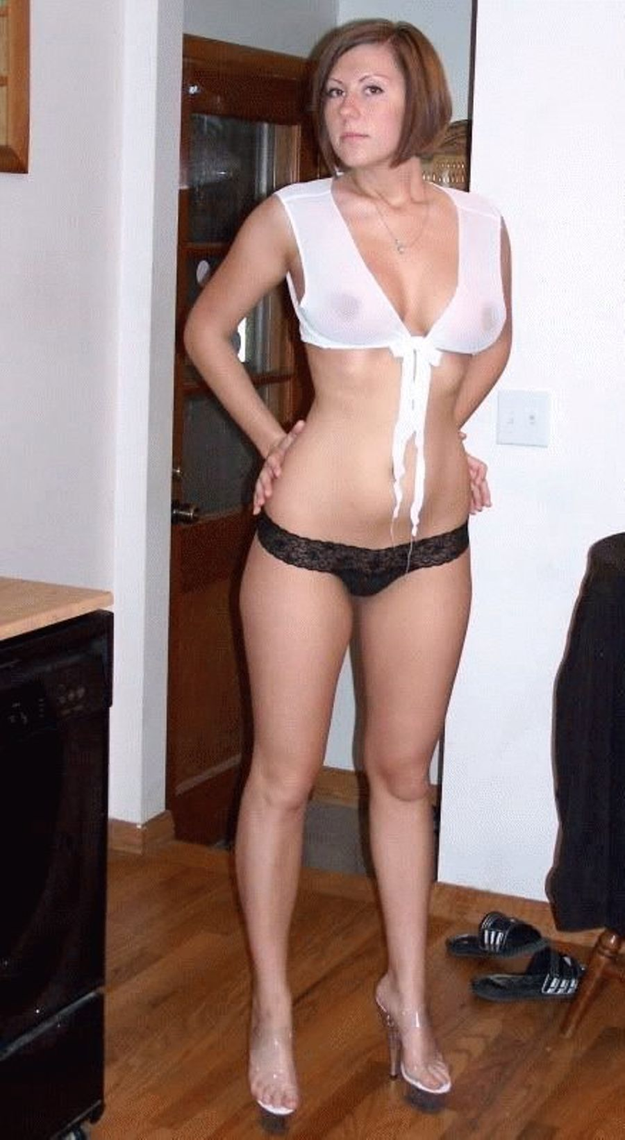 Lingerie amateur sexy wives