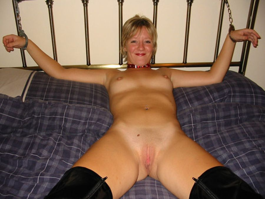 Lesbian Tied Up Bed Bondage
