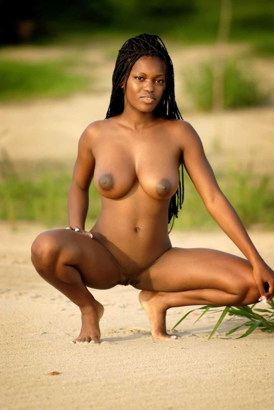Free pictures of skinny nude black women